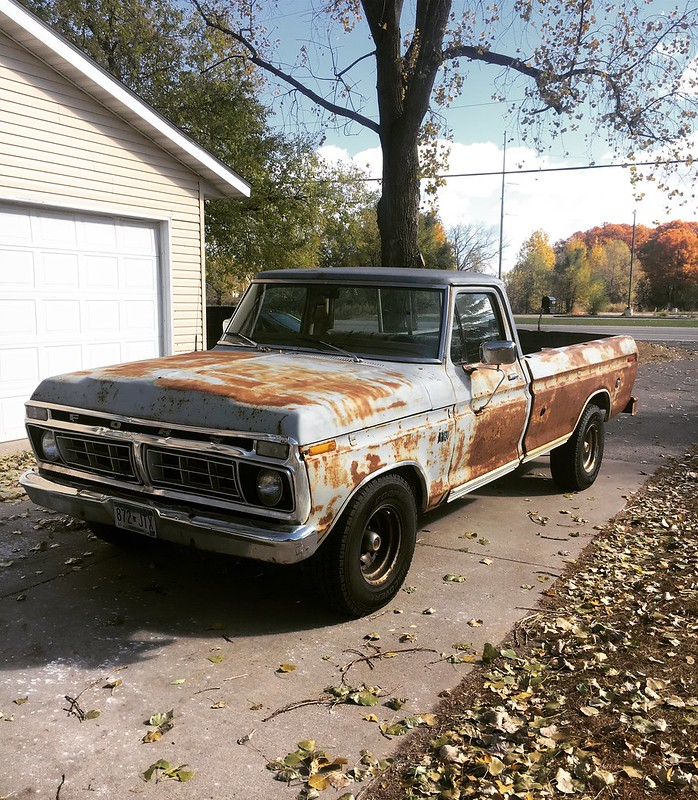 1976 F150 Build: 460, C6, Crown Vic and Mark VIII Swap - Ford Truck