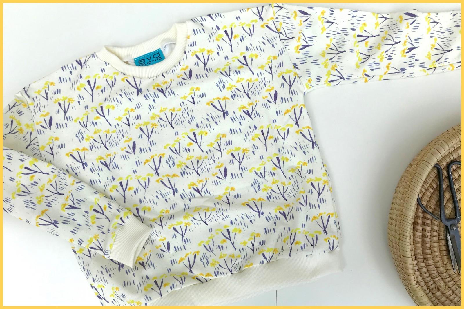 cornflower sweater