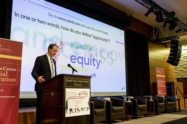 Speaker on equity