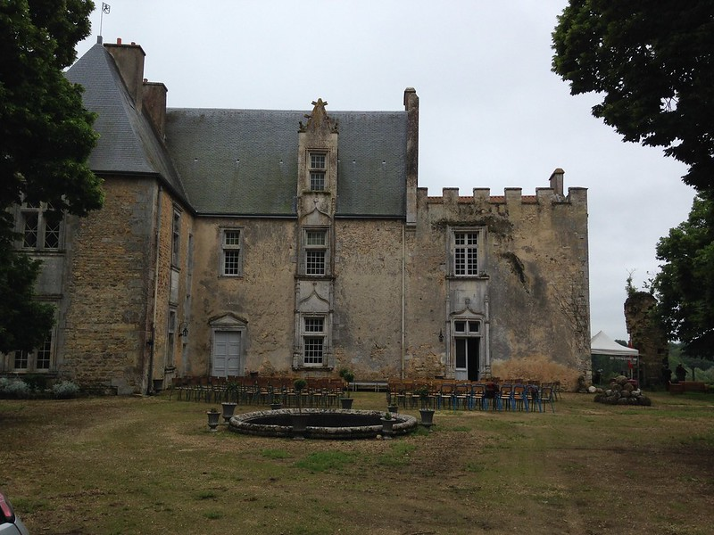 Castle of Montreuil Bonnin, France
