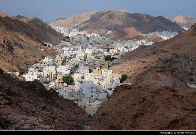 Hamriyah seen from Yiti Street, Muscat, Oman