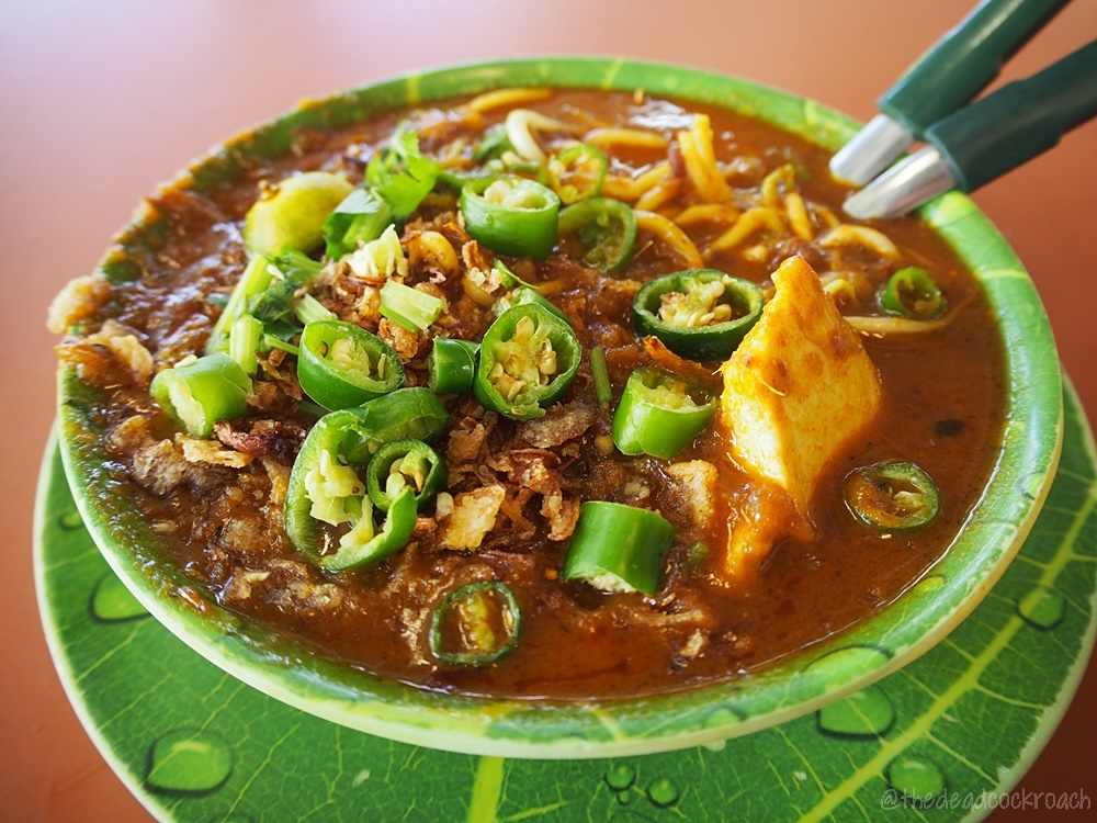 food, food review, halal, halal food, malay, malay food, mee rebus, queenstown lontong, review, singapore, tanglin halt, tanglin halt food centre