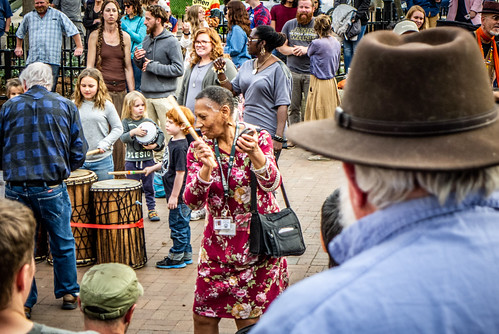 Asheville Drum Circle-65 | by RandomConnections