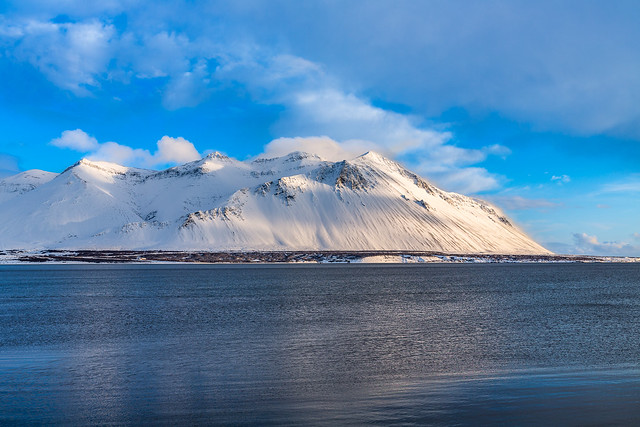 Hafnarfjall Iceland
