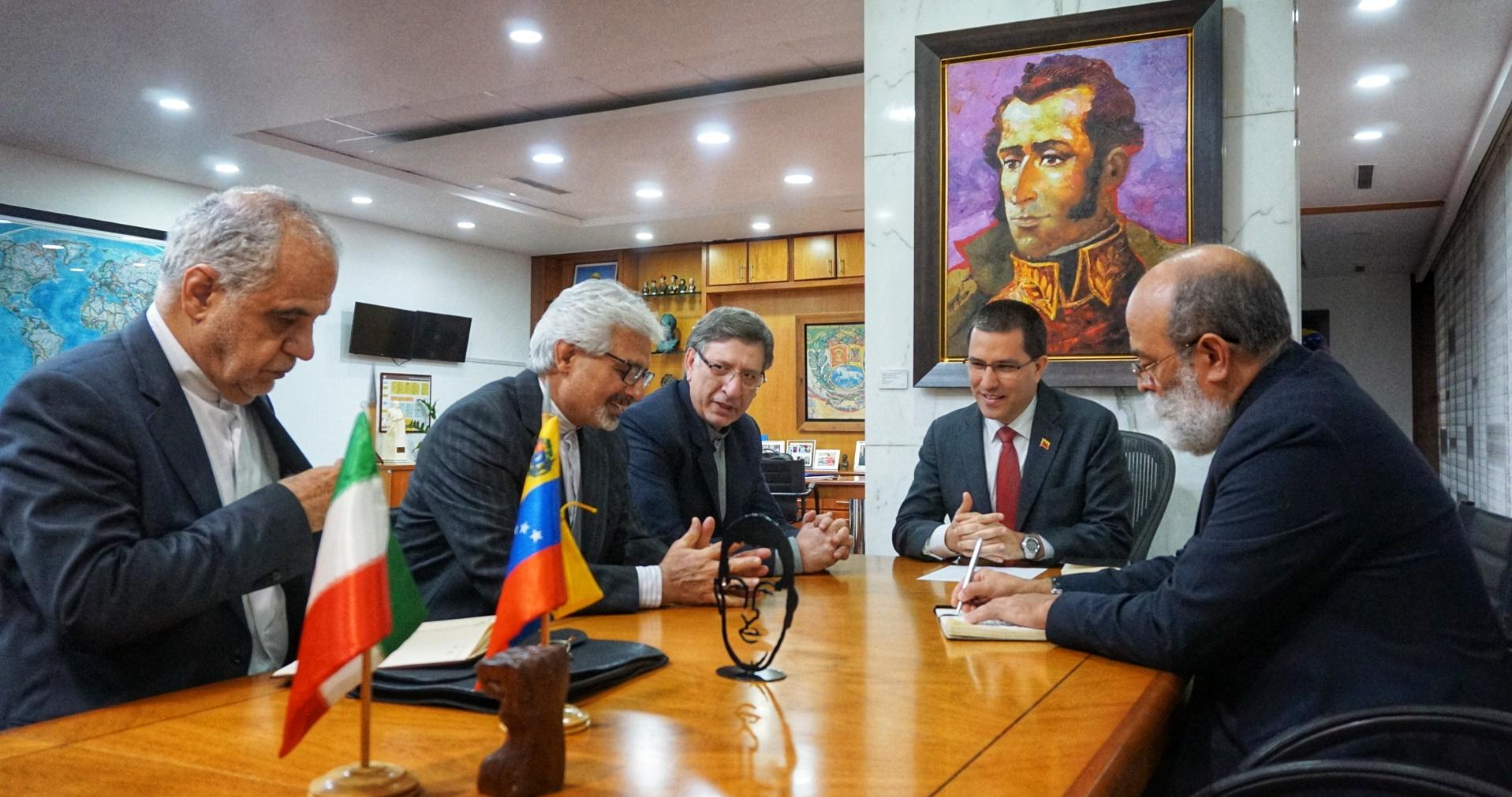 Venezuela e Irán revisan agenda de cooperación bilateral