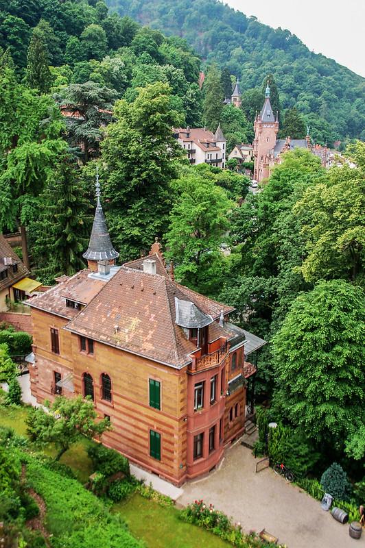 海德堡古堡俯瞰