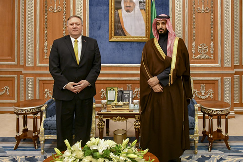 Secretary Pompeo Meets With Saudi Crown Prince Mohammed bin Salman   by U.S. Department of State