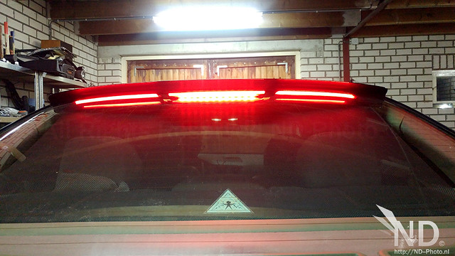 Volvo S80 2.4T 3rd Brake Light Mod