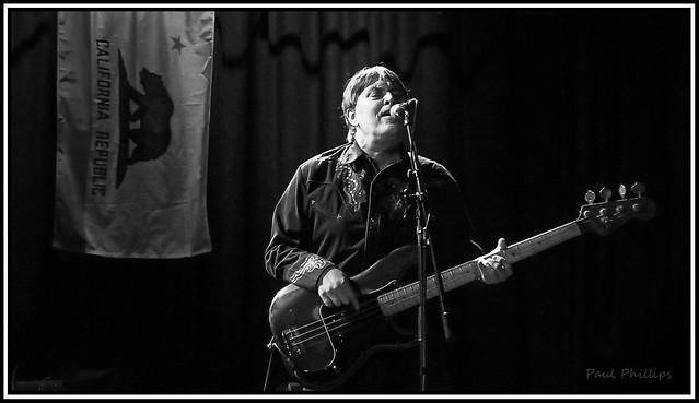 Tom Stevens, bassist for The Long Ryders
