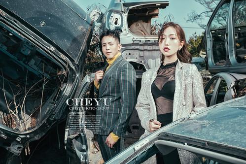 台南婚紗|一場充滿視覺衝擊感的婚紗|澤于 X  LuLu 聯合打造婚紗企劃 | by Cheyu Image