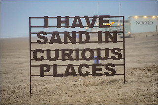 I have sand in curious places   by FlickrDelusions