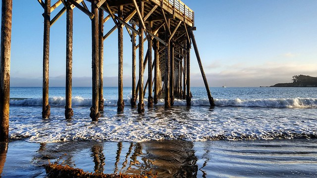 Pier at Hearst State Beach, CA