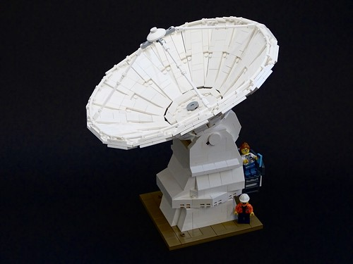 American type of ALMA Radiotelescope Antenna 1:50 Scale | by LuisPG2015