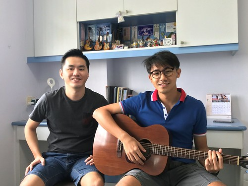 Guitar lessons Singapore Jie Ren