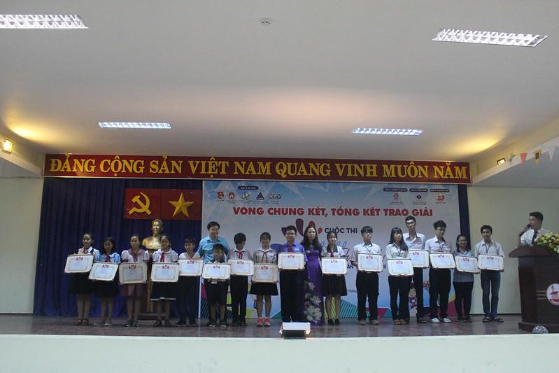 Cuộc thi Sáng tạo thanh thiếu nhi TP. HCM lần 13 năm 2018