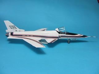 Hasegawa Grumman X-29_finish_6   by dermot.moriarty
