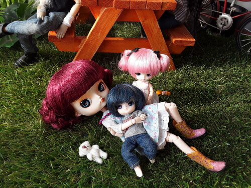 Ruby, Daniel y Suri (Yuki canguro)  29 | by Lunalila1