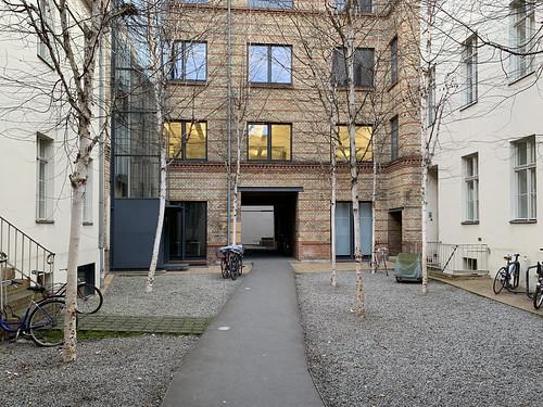 Linienstraße 144, interior courtyard (facing south) | by TypeOff