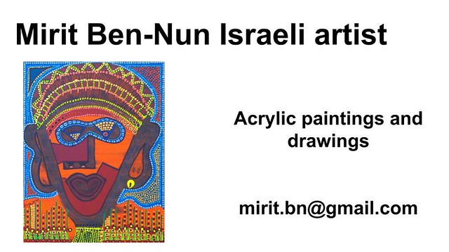 Mirit Ben-Nun best art works artists over the world