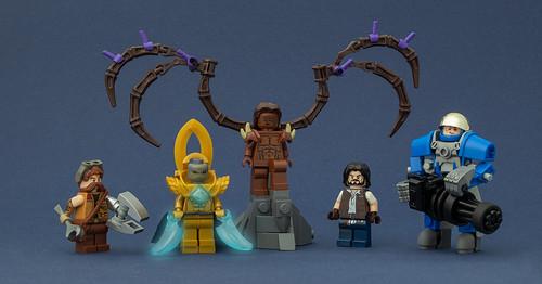 StarCraft II Figures | by Legopard