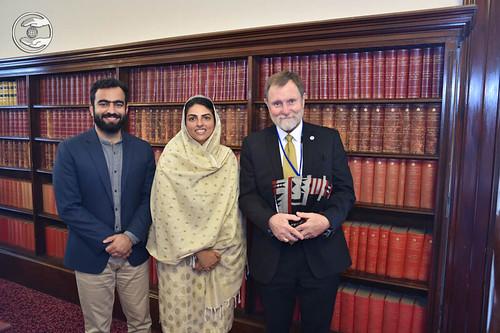 Satguru Mata Ji visit in Parliament of Victoria