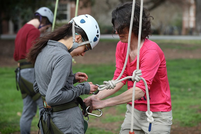Davidson Outdoors Host Tree Climb With a Purpose