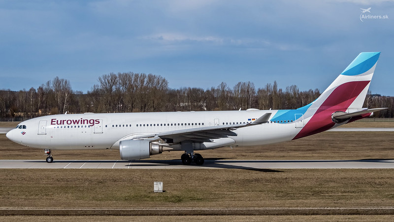 D-AXGB Eurowings Airbus A330-203