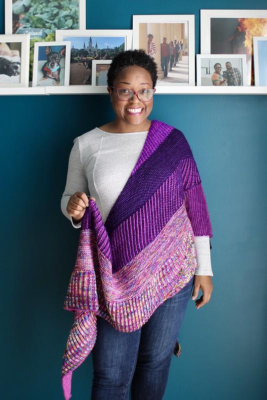 Plumpy shawl