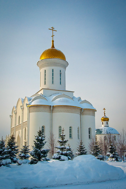 Zilant monastery - Cathedral Of The Trinity