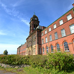 Old Sharoe Green Hospital in Preston