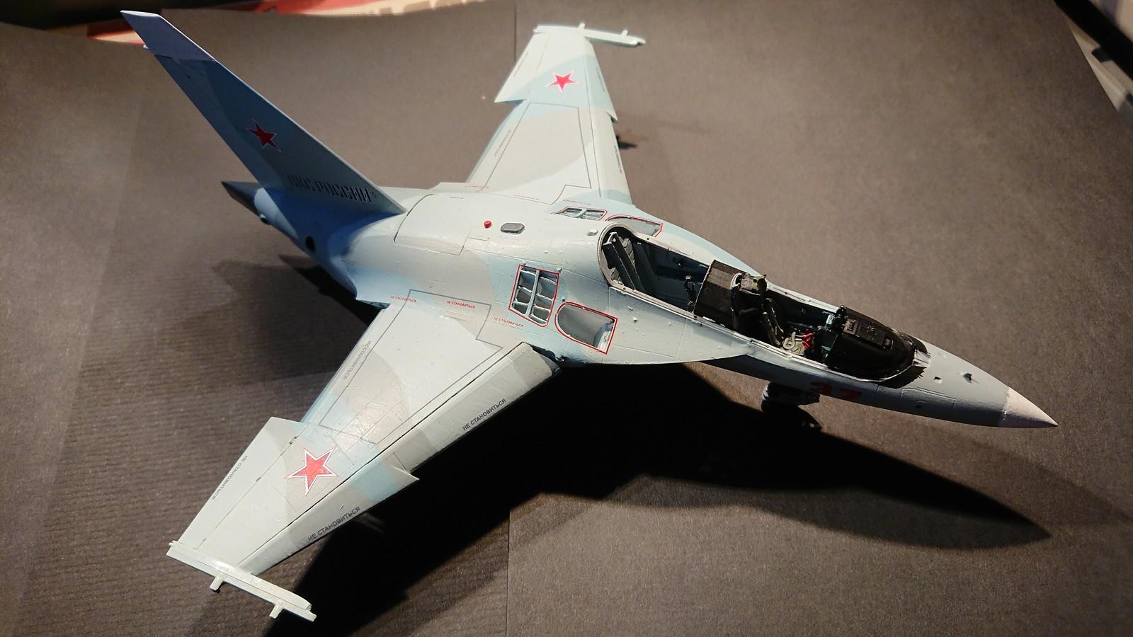 Ett par tumvantar - Yak-130 Mitten - Zvezda 1/48 - Sida 5 47557351611_80bc201a62_h