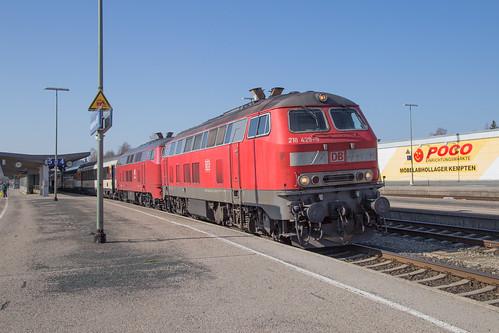 DB 218 429 + 218 402 Kempten | by daveymills37886
