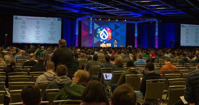 Beginning Day 1 at DrupalCon