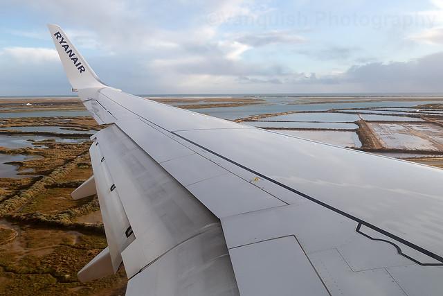 EI-FTI Ryanair B737-800 Arriving into Faro