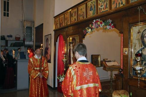 Пасхальное Богослужение в Свято-Никольском храме станицы Кавказской IMG_1403