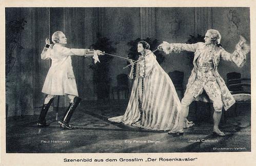 Jaque Catelain, Paul Hartmann and Ellie Felicie Berger in Der Rosenkavalier (1925)