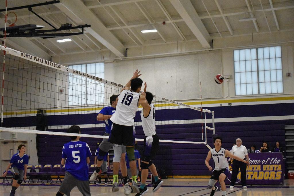 MVHS Boys Volleyball vs Los Altos