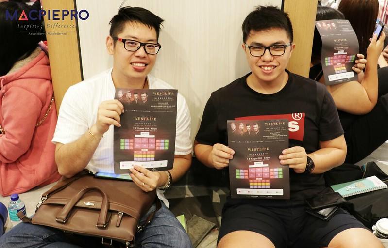 Sekitar Pra Jualan Tiket Konsert Westlife The Twenty Tour 2019 Di Kuala Lumpur