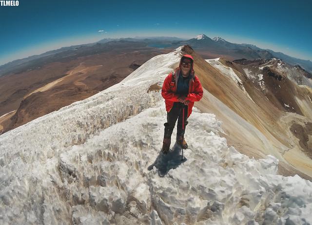 Volcano Acotango - Bolivia
