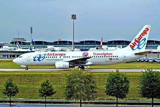 EC-HBL   Boeing 737-85H [28381] (Air Europa) Charles De Gaulle~F 09/07/2006