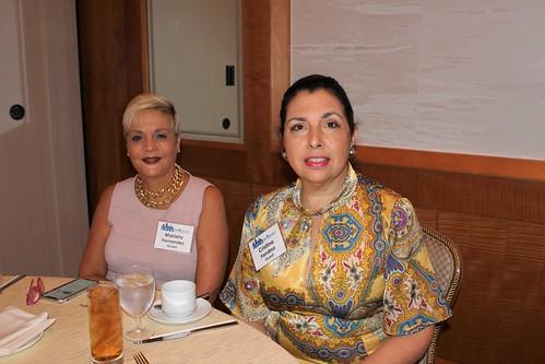 Mariela Martin-Fernandez, Cristina Fandino   by CREW Miami