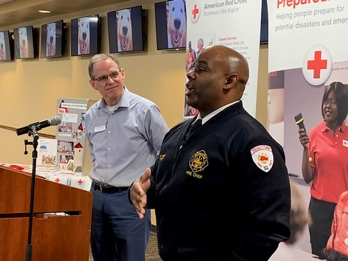 Youngstown Fire Chief Barry Finley | by redcrossofneo