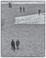Figures on a plein