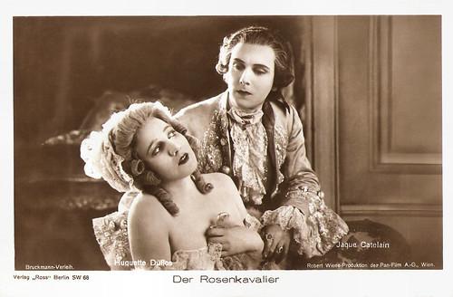 Jaque Catelain and Huguette Duflos in Der Rosenkavalier (1926)