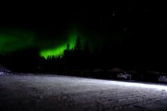 Auroras a Arctic Hotel