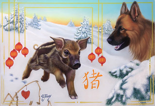 Happy New Year, my dear FlickrFriends!!   by irishishka