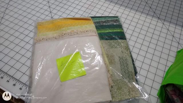 Senior Quilt 2019 squares cut