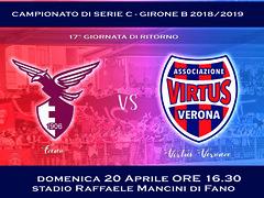 Alma Fano - Virtus Verona, l'arbitro é ...