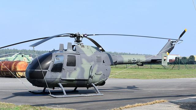 Messerschmitt-Bölkow-Blohm Bo.105C c/n S-90 Germany Army serial 9820