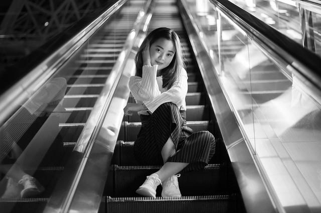 Street portrait - Sayaka